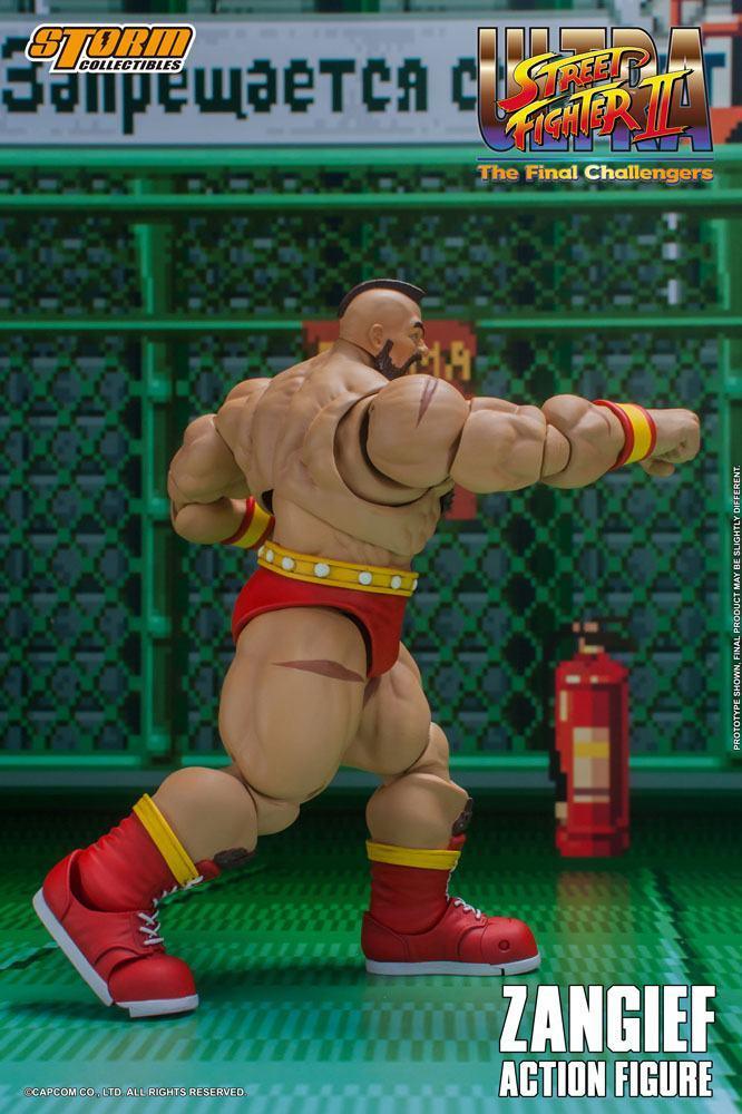 Storm collectible street fighter zanghief figurine 1