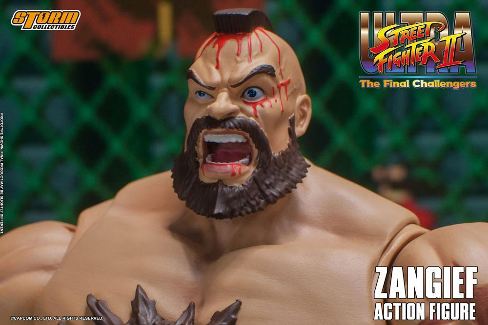 Storm collectible street fighter zanghief figurine 10