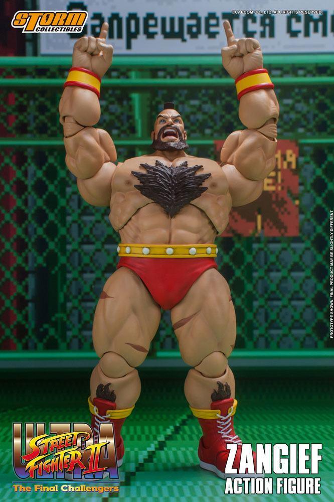Storm collectible street fighter zanghief figurine 11