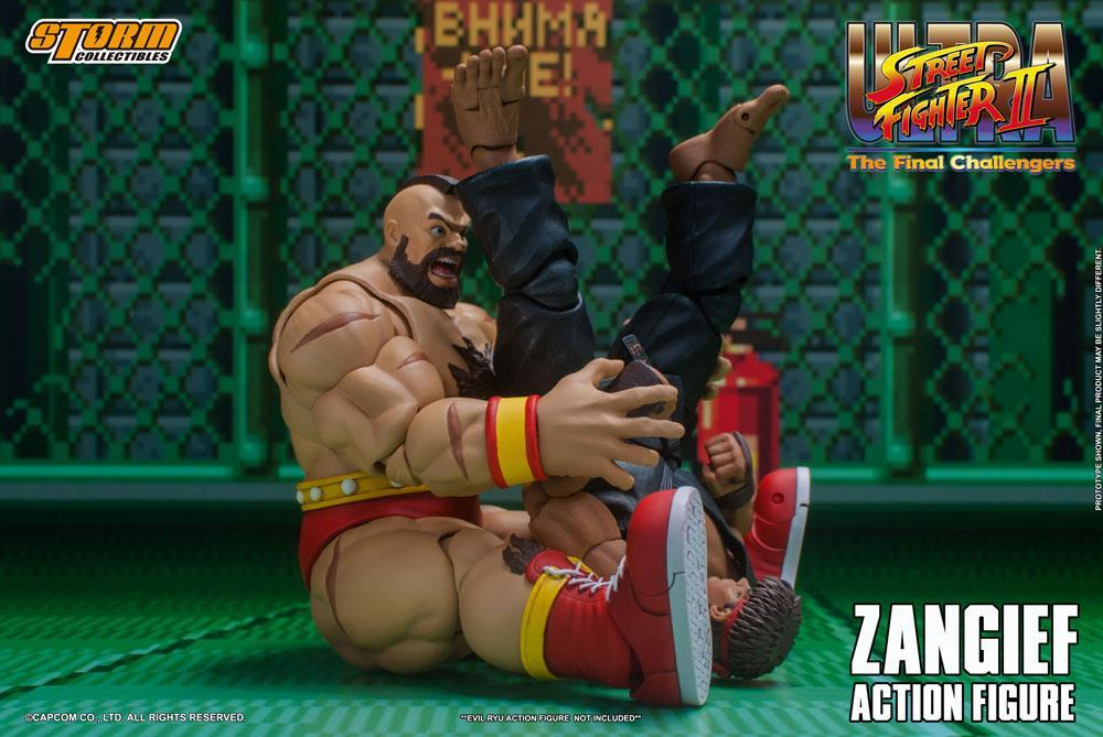 Storm collectible street fighter zanghief figurine 12