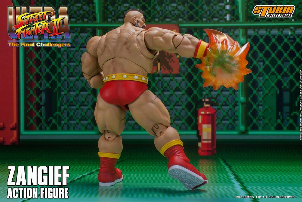 Storm collectible street fighter zanghief figurine 13