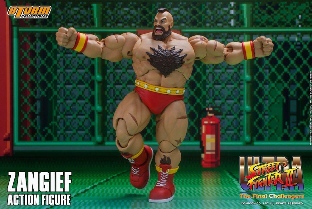 Storm collectible street fighter zanghief figurine 14