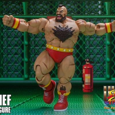 Ultra Street fighter II The final challengers figurine 1/12 Zangief 19 cm - Storm collectibles