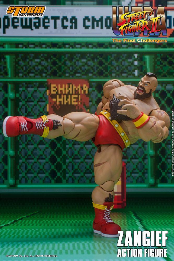 Storm collectible street fighter zanghief figurine 2