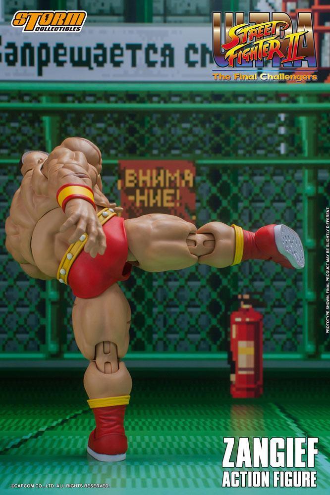 Storm collectible street fighter zanghief figurine 4