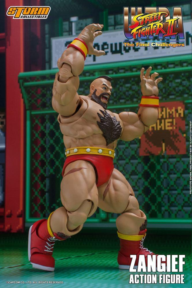 Storm collectible street fighter zanghief figurine 5