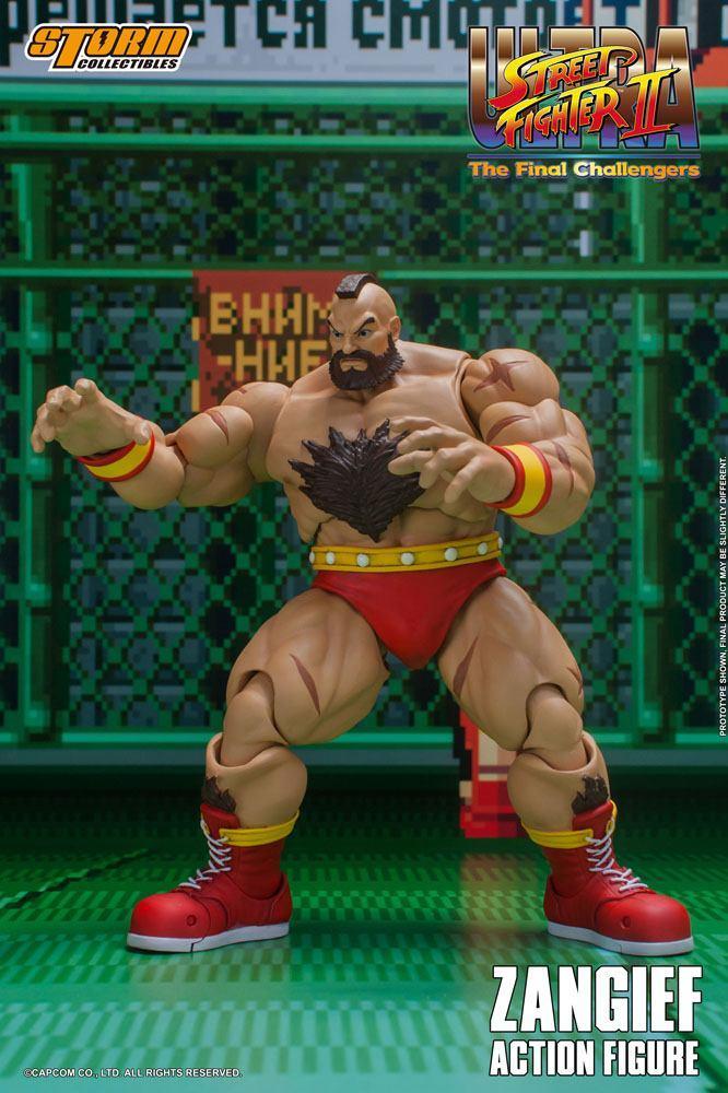 Storm collectible street fighter zanghief figurine 6