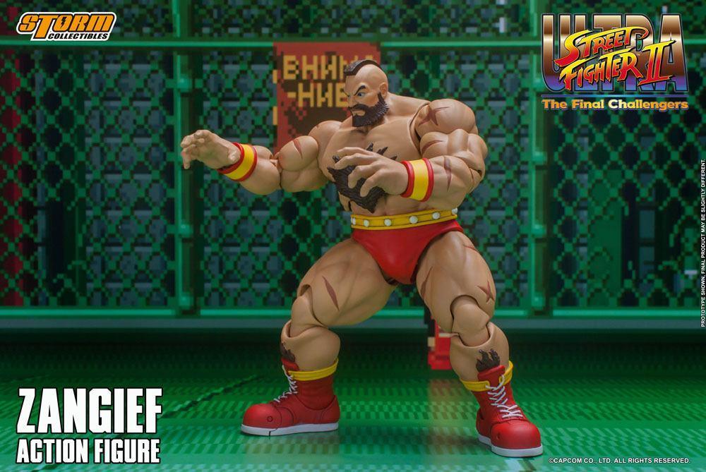 Storm collectible street fighter zanghief figurine 7