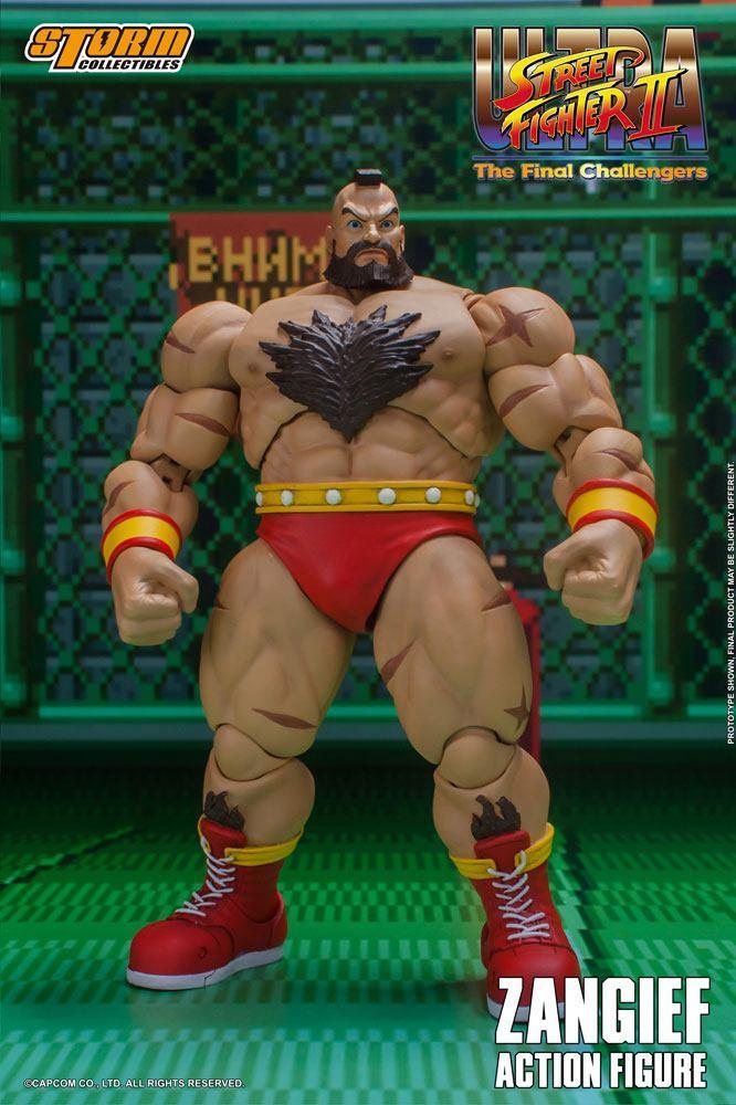 Storm collectible street fighter zanghief figurine 8