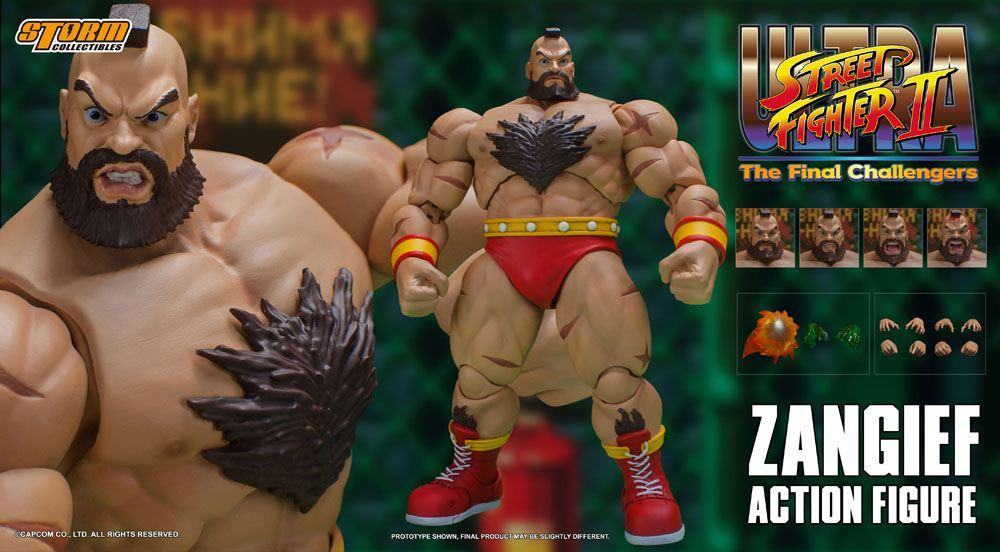 Storm collectible street fighter zanghief figurine 9