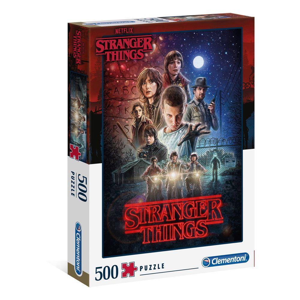 Stranger things puzzle saison 1 500 pieces