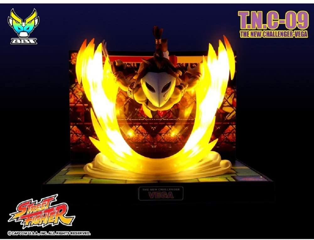Street fighter figurine led son balrog the new challenger 6