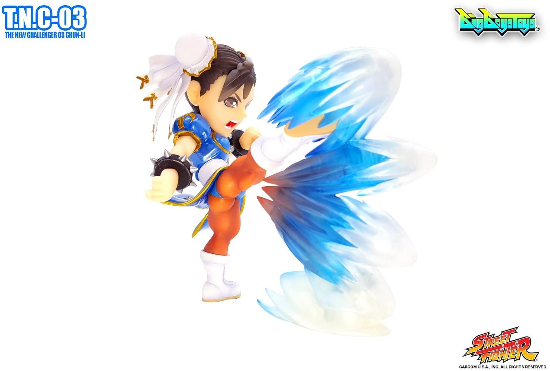 Street fighter figurine led son chun li the new challenger 4