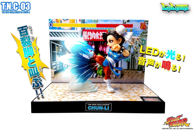 Street fighter figurine led son chun li the new challenger 5