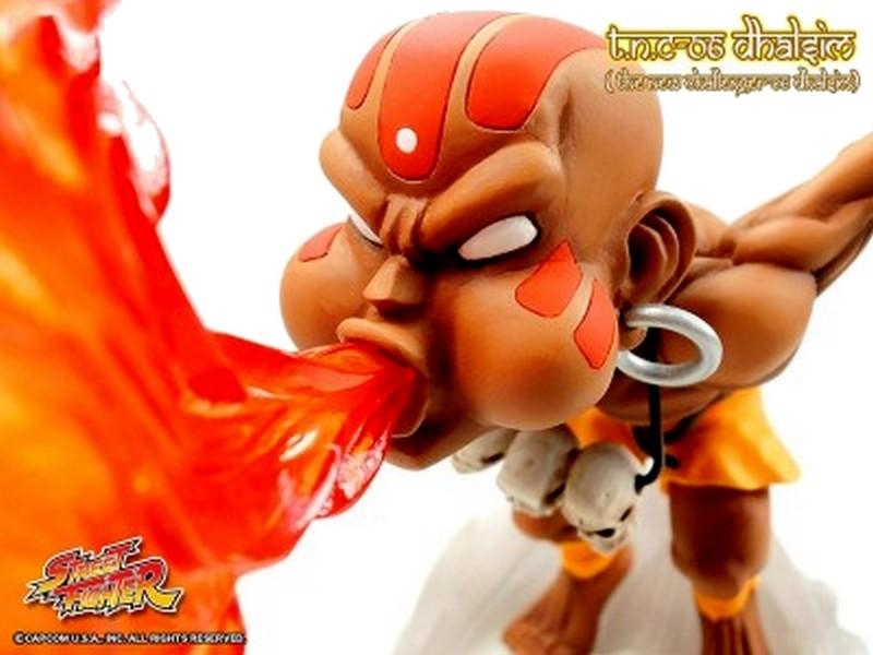Street fighter figurine led son dhalsim the new challenger 3