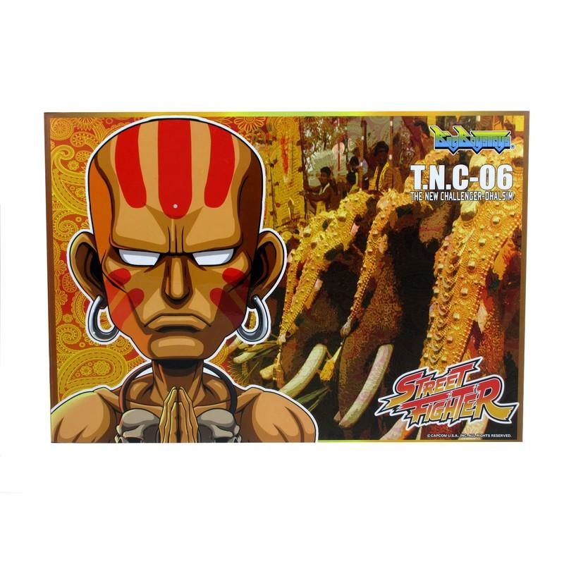 Street fighter figurine led son dhalsim the new challenger suukoo toys 3