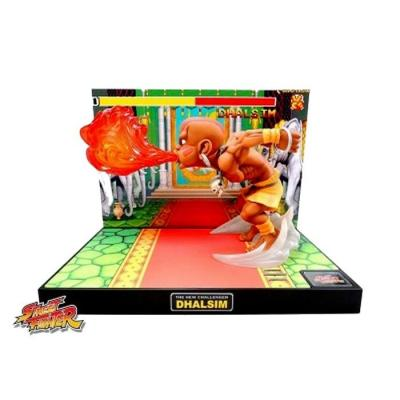 Street fighter figurine led son dhalsim the new challenger suukoo toys