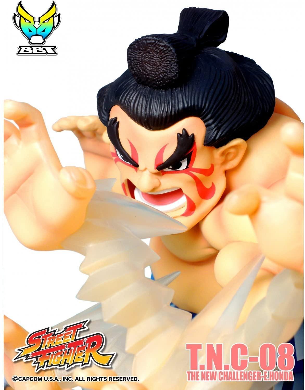 Street fighter figurine led son e honda the new challenger