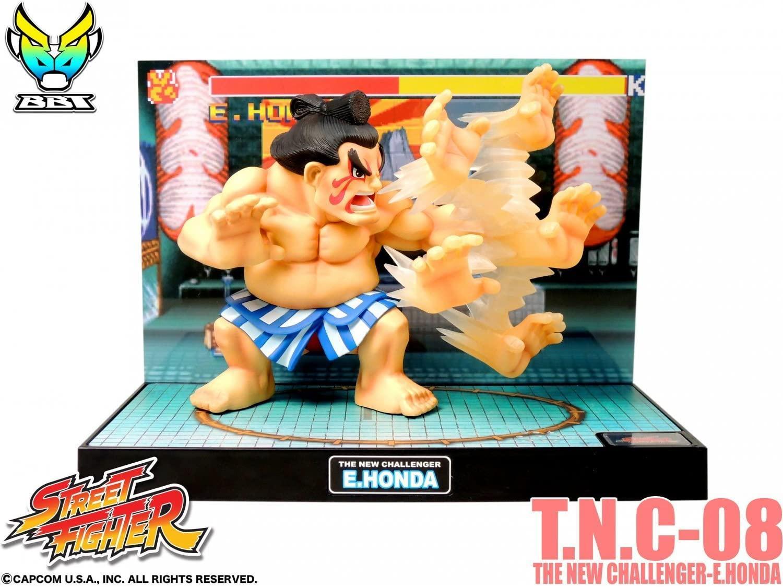 Street fighter figurine led son e honda the new challenger 2
