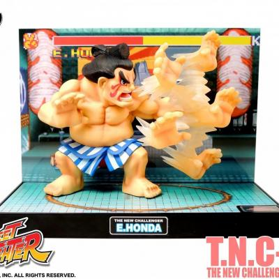 Street fighter figurine led son e honda the new challenger 2