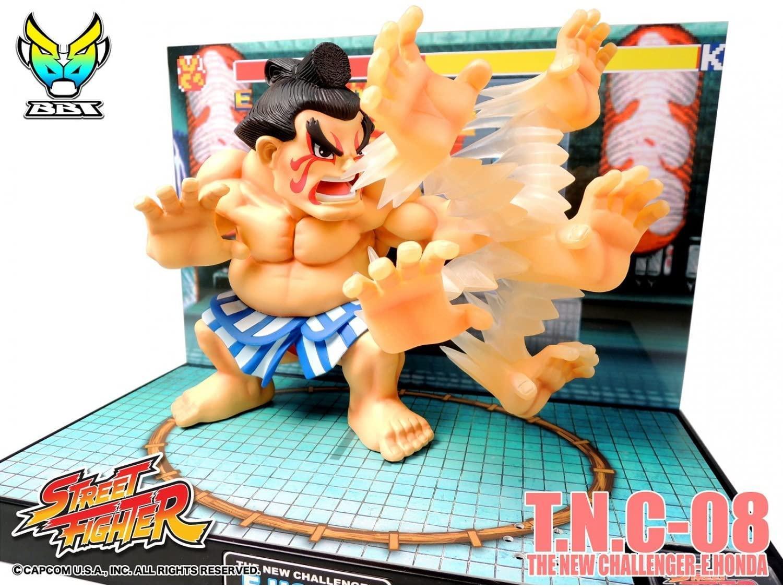 Street fighter figurine led son e honda the new challenger 4