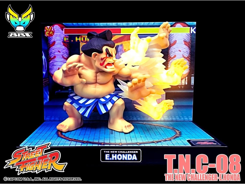 Street fighter figurine led son e honda the new challenger 5