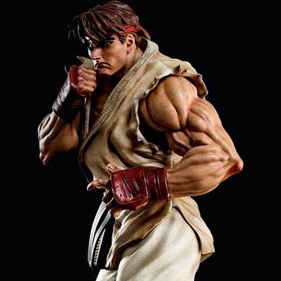 Street fighter ryu 14 statue 1