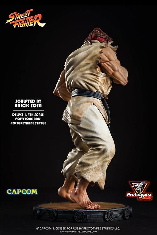Street fighter ryu 14 statue 3