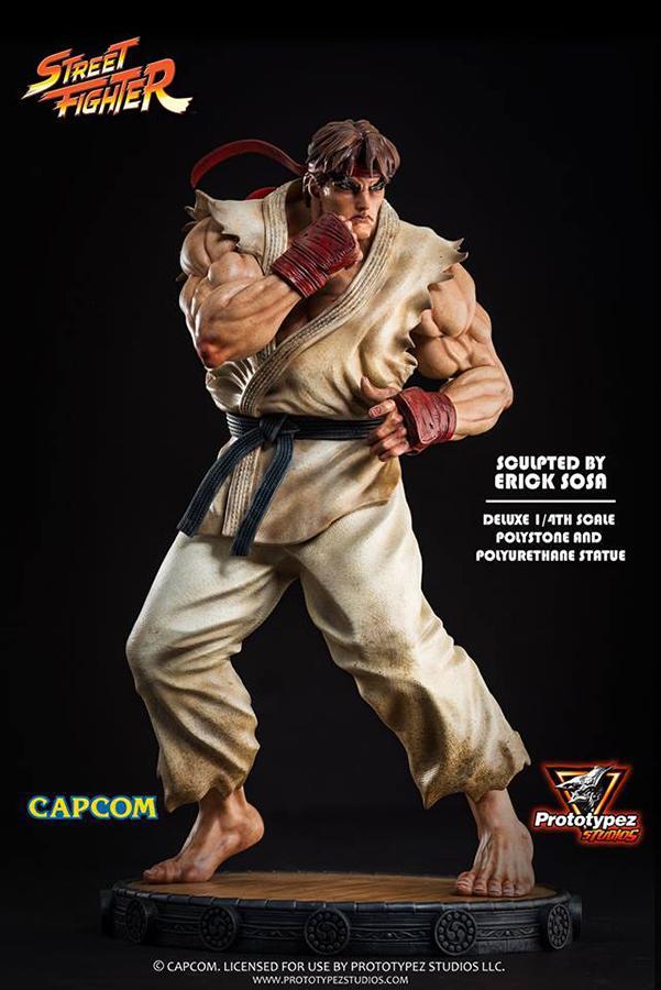 Street fighter ryu 14 statue 4
