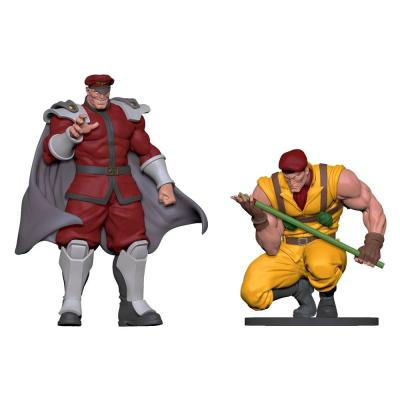 Street fighter statuettes pvc bison rolento