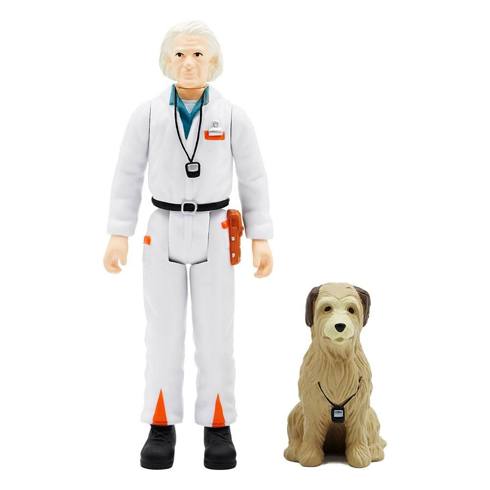 Super7 figurine reaction retour vers le futur doc 1