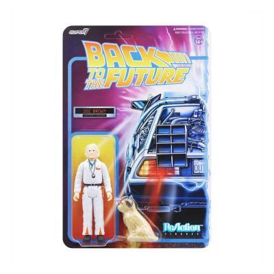 Retour vers le futur figurine ReAction Doc Brown 10 cm Super7