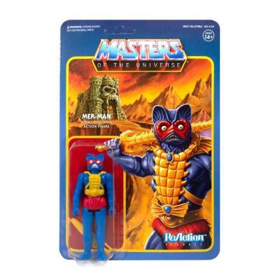 Super7 motu figurine reaction mer man master of the univers