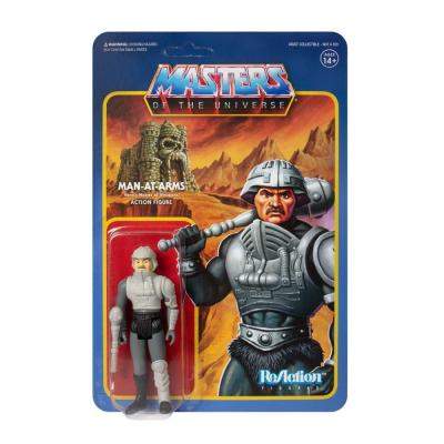 Super7 motu masters of the universe figurine reaction man at arms