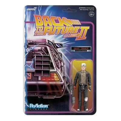 Retour vers le futur figurine ReAction Griff Tannen 10 cm Super7