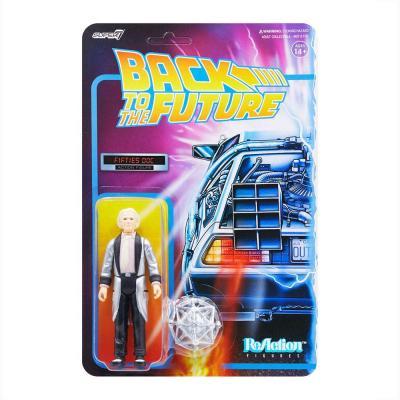 Retour vers le futur figurine ReAction Fifties Doc 10 cm Super7