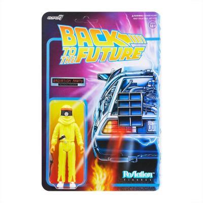 Retour vers le futur figurine ReAction Radiation Marty 10 cm Super7