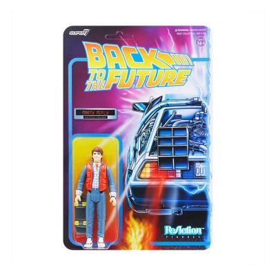 Retour vers le futur figurine ReAction Marty McFly 10 cm Super7