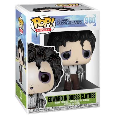 Edward aux mains d´argent POP! Movies Vinyl figurine Edward in Dress Clothes 9 cm