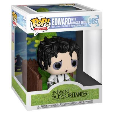 Edward aux mains d´argent POP! Deluxe Vinyl figurine Edward & Dino Hedge 9 cm