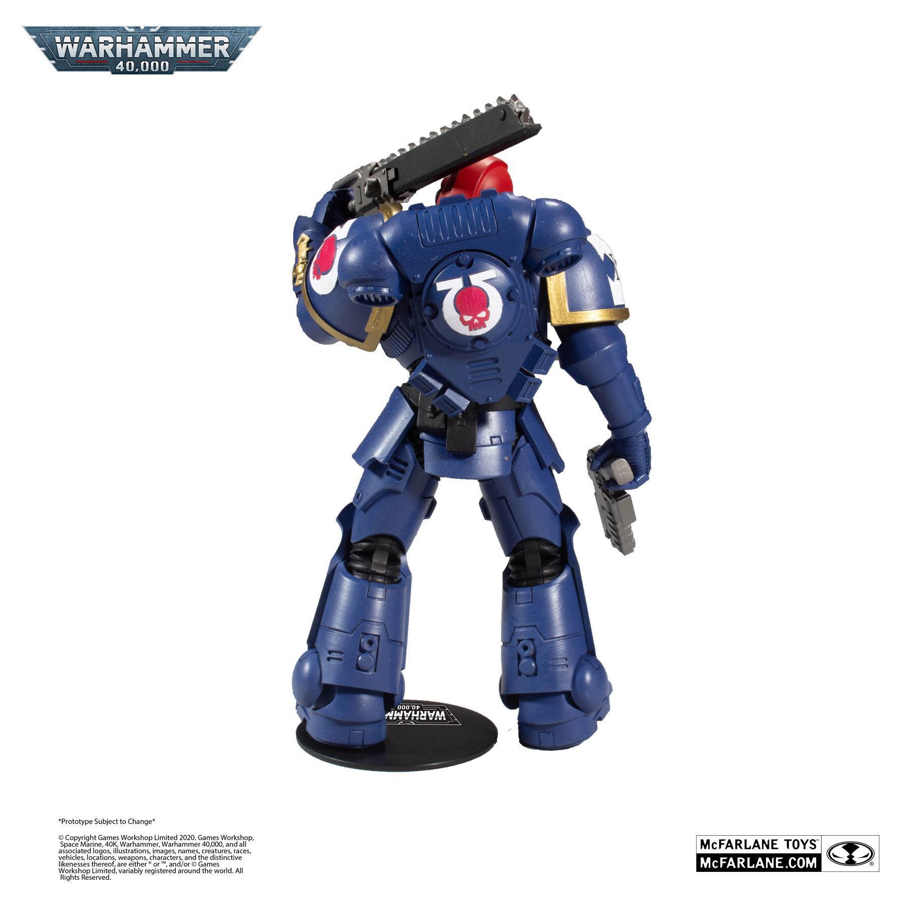Suukoo toys figurine warhammer marine space 1