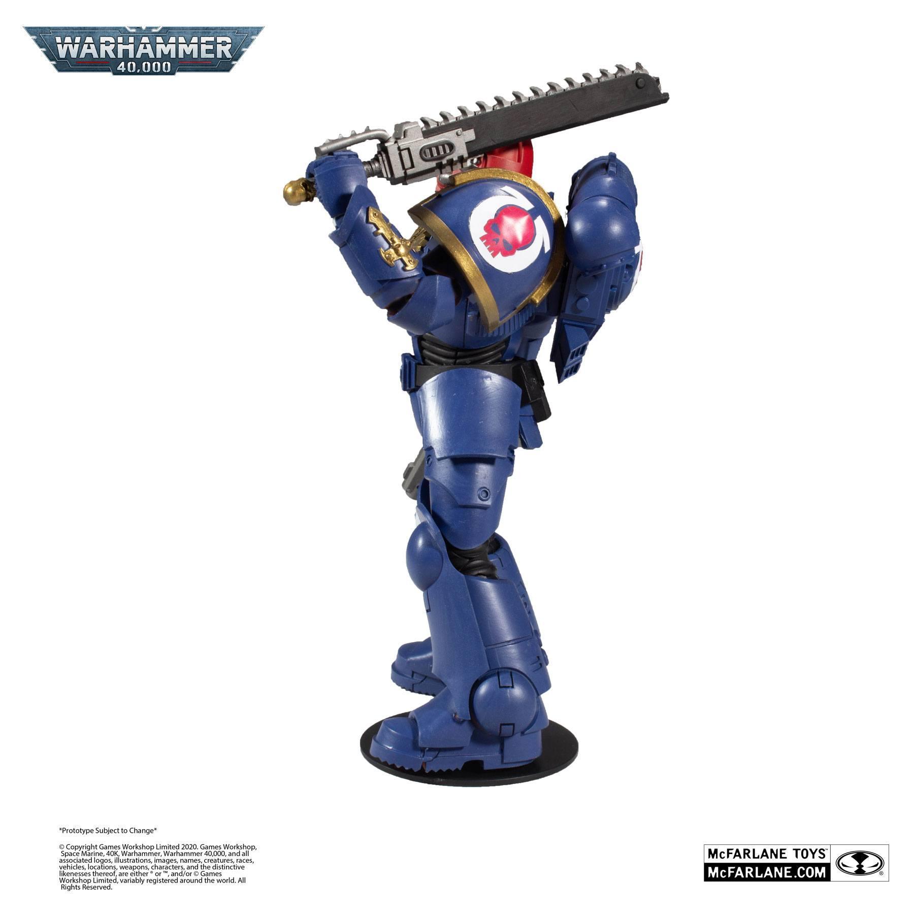 Suukoo toys figurine warhammer marine space 3