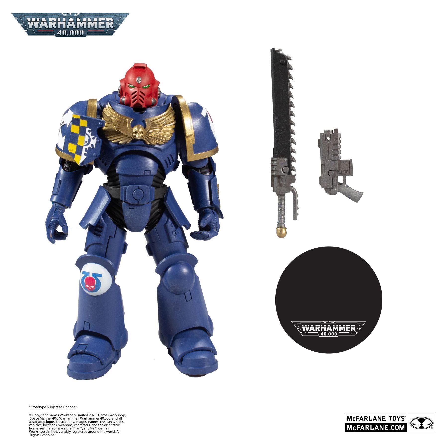 Suukoo toys figurine warhammer marine space 4