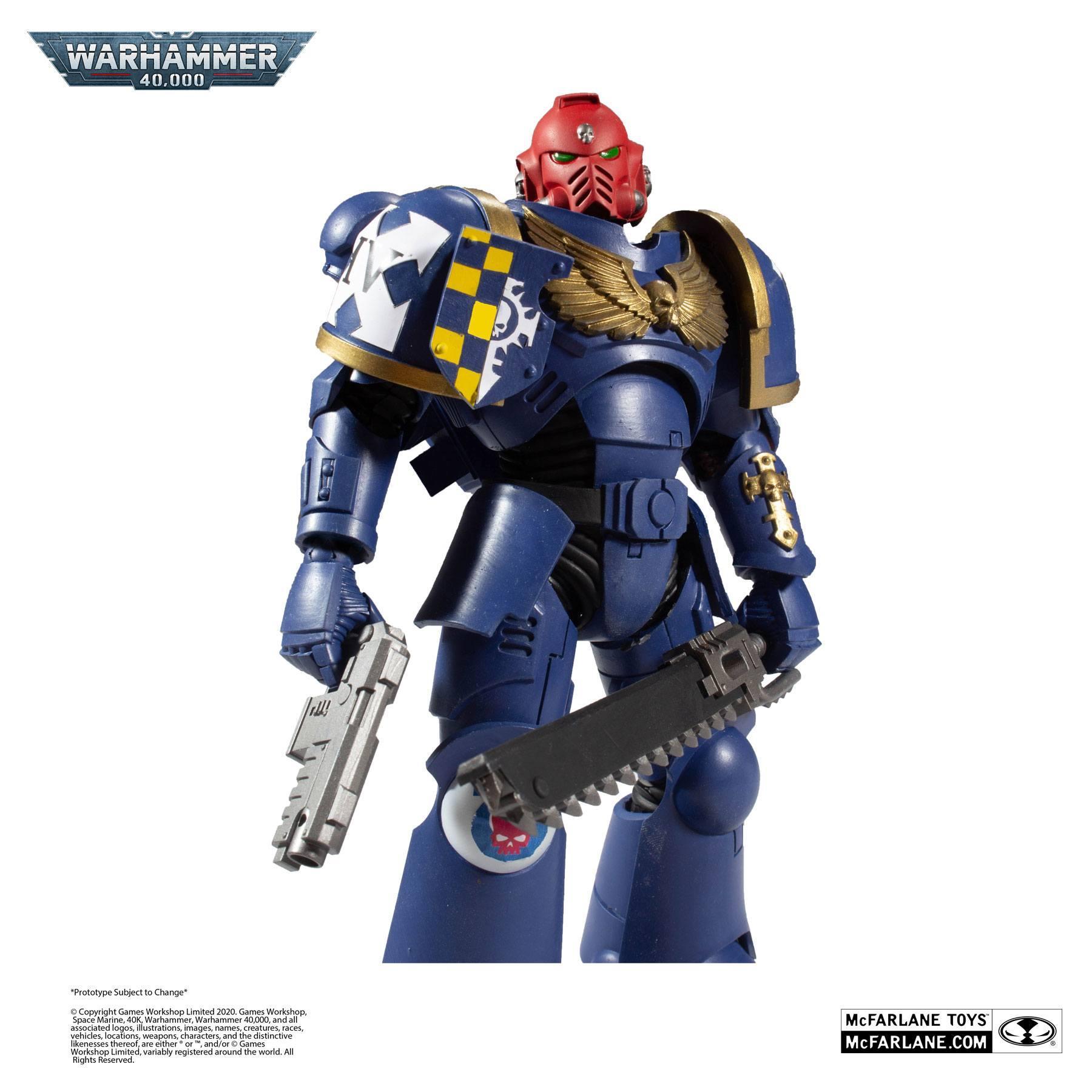 Suukoo toys figurine warhammer marine space 5