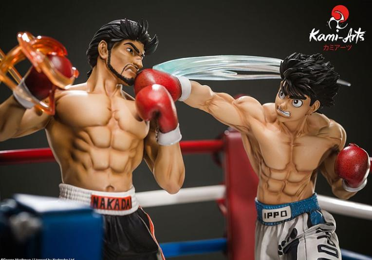 Suukoo toys ippo statue collector hajime no ippo edition limitee 450exemplaires kami arts manga boxe 5