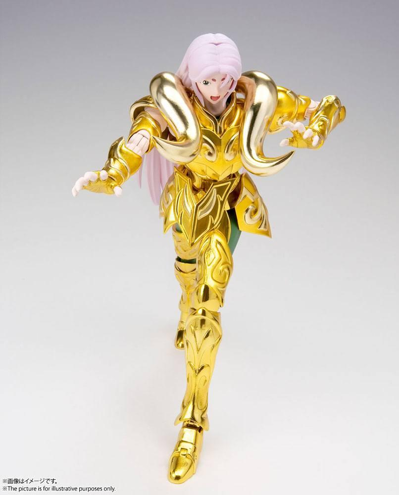 Suukoo toys saint seiya figurine cloth myth ex aries mu revival version 18 cm tamashii nations bandai 11