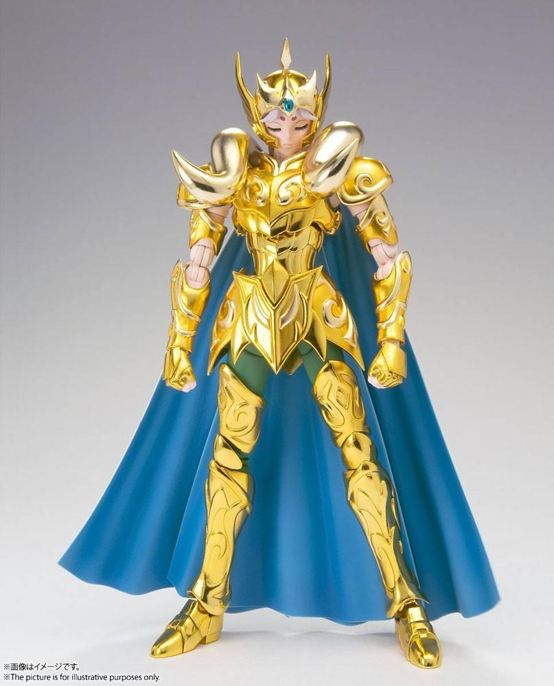 Suukoo toys saint seiya figurine cloth myth ex aries mu revival version 18 cm tamashii nations bandai 12