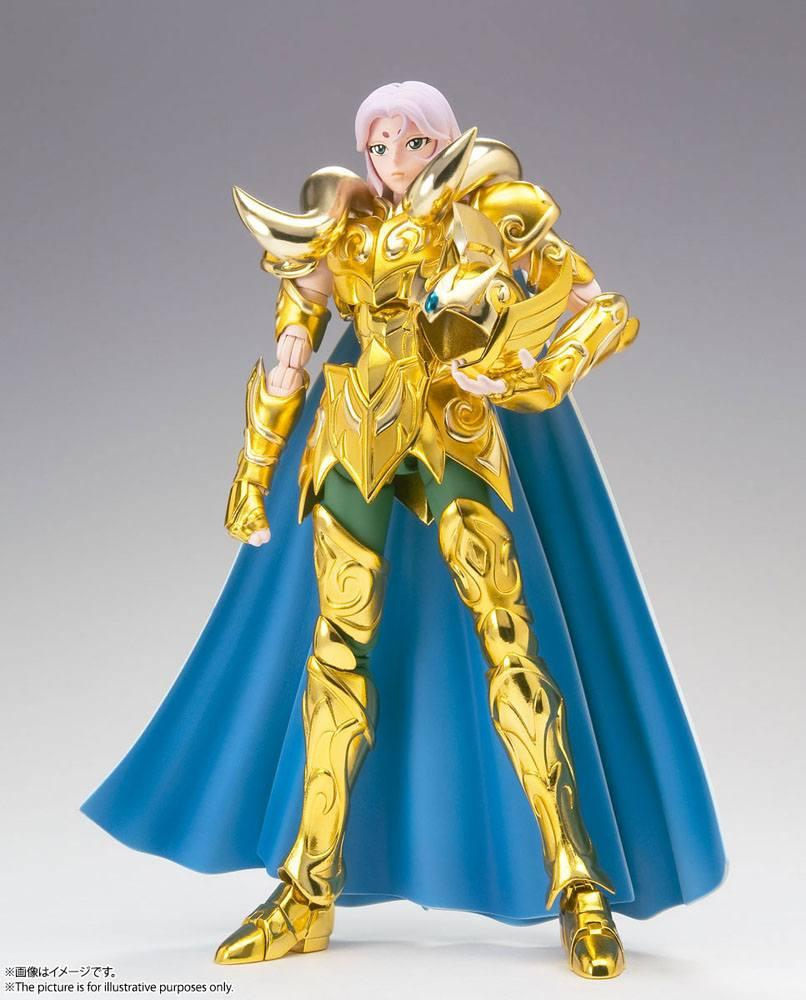 Suukoo toys saint seiya figurine cloth myth ex aries mu revival version 18 cm tamashii nations bandai 13