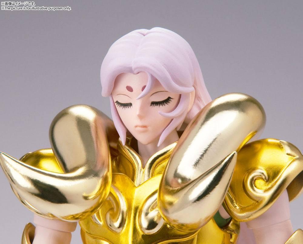 Suukoo toys saint seiya figurine cloth myth ex aries mu revival version 18 cm tamashii nations bandai 8