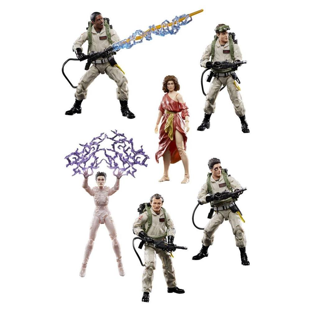 Suukoo toys sos fantomes ghostbuster hasbro pack 6 figurines articulees 1